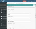 Main Option の WebDAV サーバ設定